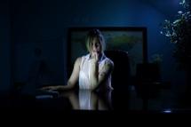 Late night desk fantasy